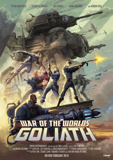 War Of The Worlds Goliath Animated Steunk Movie | giant robots robot war espresso page 4