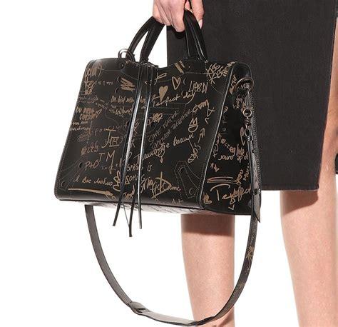 Bling The Handbag For Springsummer Second City Style Fashion Bling Second City Style by Balenciaga Blackout City Printed Bag
