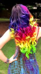 colorful ideas 20 rainbow hair color ideas for 2016