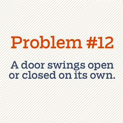 door swings open a door swings open or closed on its own 52 diy fixes