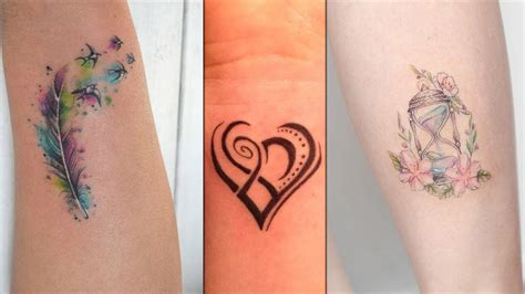 small ladies tattoos colorful small designs for colorful