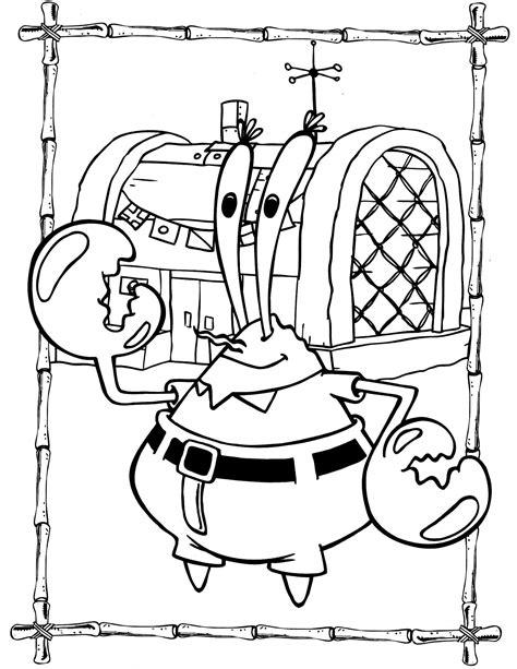 Spongebob 92 Coloringcolor Com Krusty Krab Coloring Pages