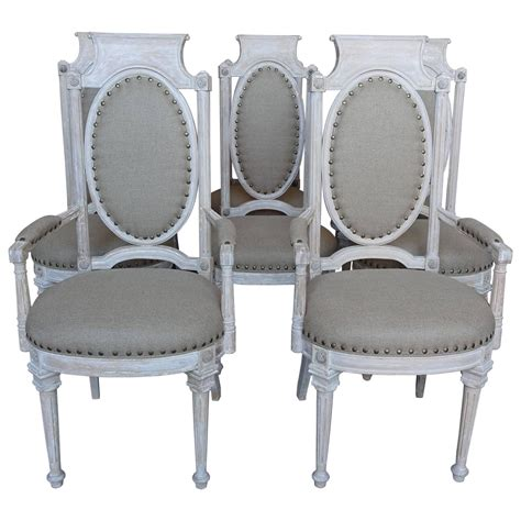 Italian Style Dining Chairs Set Of Eight Italian Neoclassical Style Dining Chairs Levinson Antiques