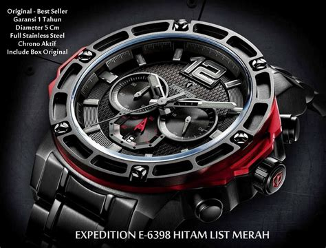 Expedition 6465 Original Jam Tangan jual jam tangan expedition e 6398 original natalight