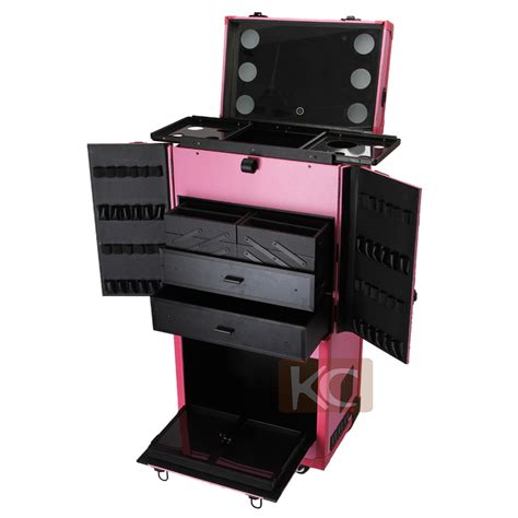 international makeup lighted with drawers hairdresser