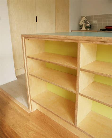 Birch Ply Kitchen Cabinets Bespoke Birch Ply Formica Shelves By Matt Antrobus Kitchen Birch Ply Birch