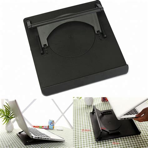 Swivel Laptop Stand For by Laptop Tablet Holder Cooling 360 176 Rotation Stand Mount