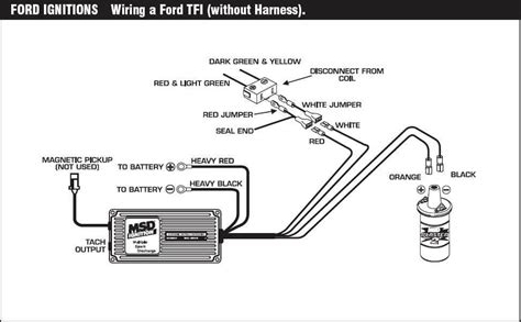 chevy ignition coil wiring diagram without msd chevy