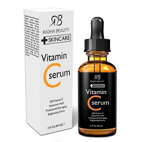 Serum Vitamin C Zivagold vitamin c serum for anti aging skincare radha