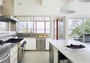 New Home Kitchen Design Interior Style Lake House In New York Enter Your Name Here
