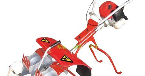 Blade Penyiang Gulma alat matun dua jalur 2 rows paddy weeder saam pw01