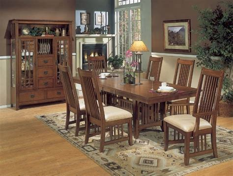 mission style dining room sets 25 best images about craftsman style furniture on
