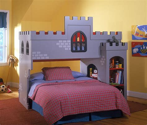 castle beds for boys three themes offer cool bunk beds for boys 865 home