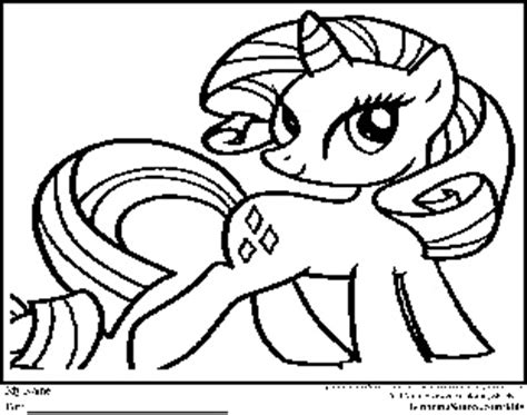 old my little pony unicorn coloring page coloring pages