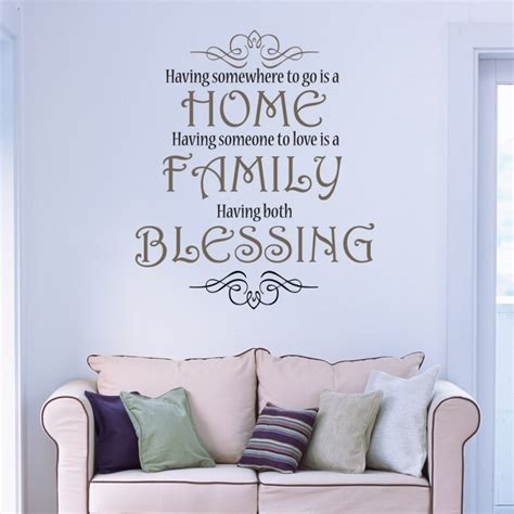 christian home decor wall art home family blessing love wall art christian vinyl decor