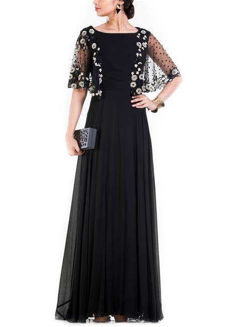 Indian Black Dress anushree agarwal jet black dress shop dresses at