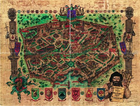 baldur s gate map baldur s gate city map whole by shade os on deviantart