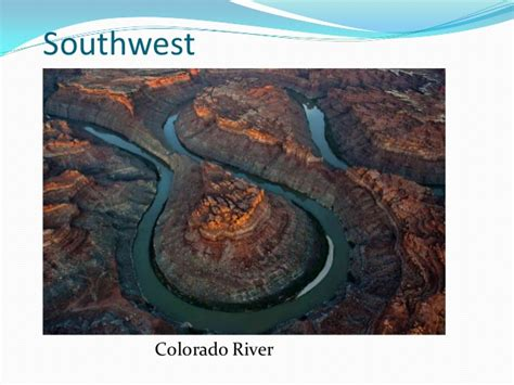 Landforms and waterways of the united states regions