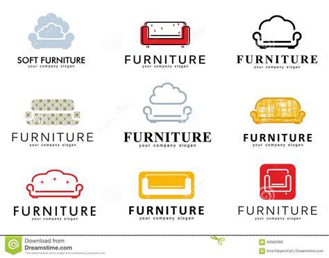 Set Logo, Badge, Emblem And Logo Elements For Furniture