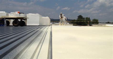 foam roof spray foam roofing insulation costs modernize