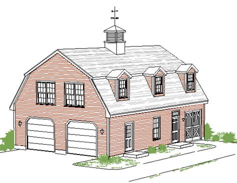 barn style garage with apartment plans garage shop barn style with living space gambrel garage