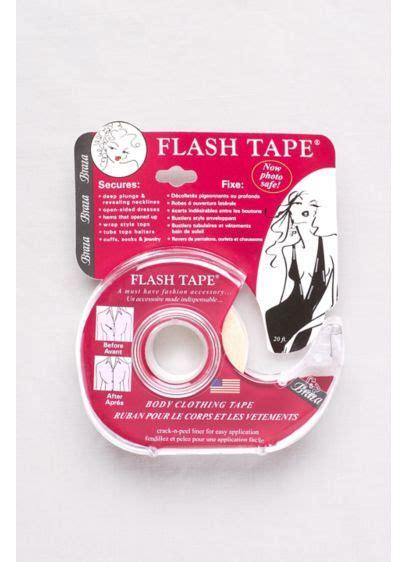 braza body clothing double sided flash tape 1009 flash tape body and clothing fashion tape david s bridal