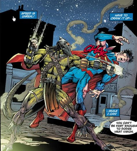 from wars to superman figures in science fiction and books dc is the creature in superman 11 a known figure