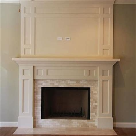 new fireplace design with white mantel and cream wall traditional fireplace design ideas