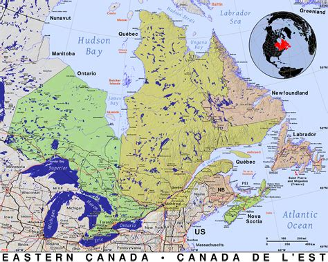 map eastern usa and canada eastern canada 183 domain maps by pat the free open