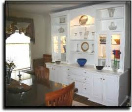 cabinet dining room wall