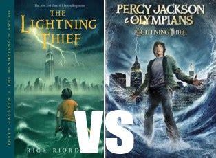 The Lightning Thief Cover 8th Percy Jackson Oleh Rick Riordan book vs mission viejo library voice