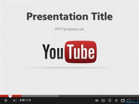 powerpoint design youtube free youtube ppt template