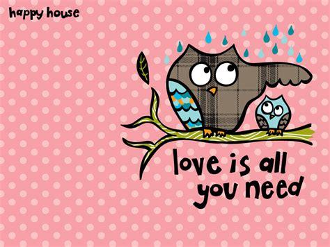 cute owl desktop wallpaper  wallpapersafari
