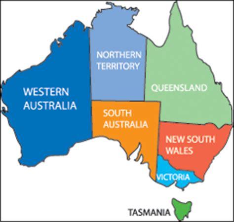 australia province map australia and oceania map quiz