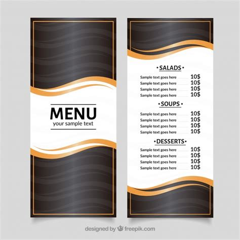 modern menu template logo honda vectors photos and psd files free