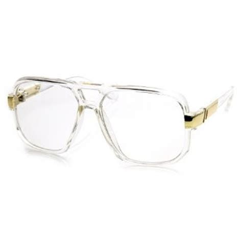 Clubmaster Ban 3586 by Classic Square Frame Plastic Clear Lens