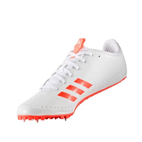 athletic spikes shoes adidas sprintstar mens white athletic field running spikes