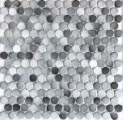 gray color 19mm matt ceramic mosaic bathroom shower