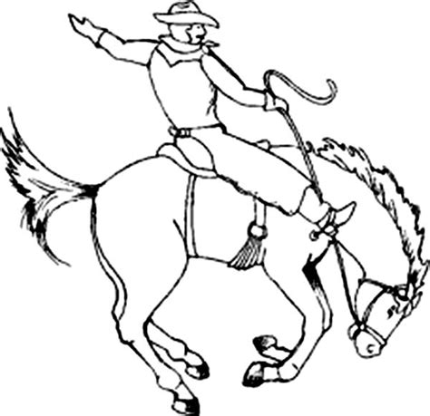 cowboy horse coloring page cowboy coloring pages the american way gianfreda net
