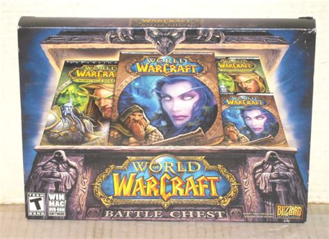 Pc Original World Of Warcraft Battle Chest 1 free world of warcraft battle chest pc 2008 brand