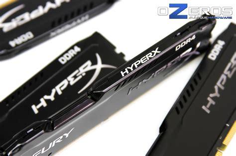 Ram Hyperx review memorias ram hyperx fury 16gb ddr4 2400mhz cl15 hx424c15fbk4 16 ozeros
