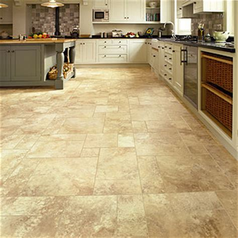 kitchen and bathroom flooring options