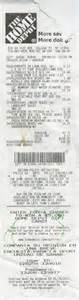 home depot receipt template home depot 124 04 31st avenue college point