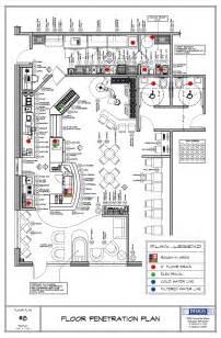 Design Amp Layout Floor Penetration Plan