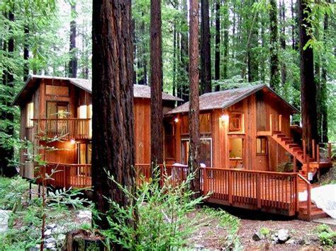 Redwood Forest Cabins For Rent by Secret Garden Magical Cabin Redwoods Vrbo