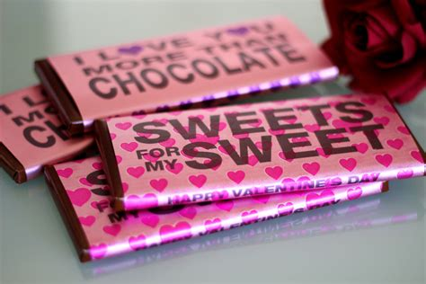 personalized chocolate bar wrappers using craft attitude
