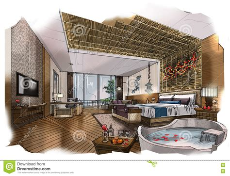 creative living room perspective interior design ideas by sketch perspective interior bedroom into a watercolor on