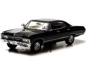 1967 chevrolet impala black 4 doors supernatural black 1