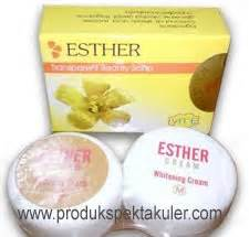 Esther Pemutih Wajah warna warni kosmetik pemutih esther