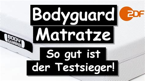matratze stiftung warentest sehr gut bodyguard matratze so gut ist der testsieger wirklich